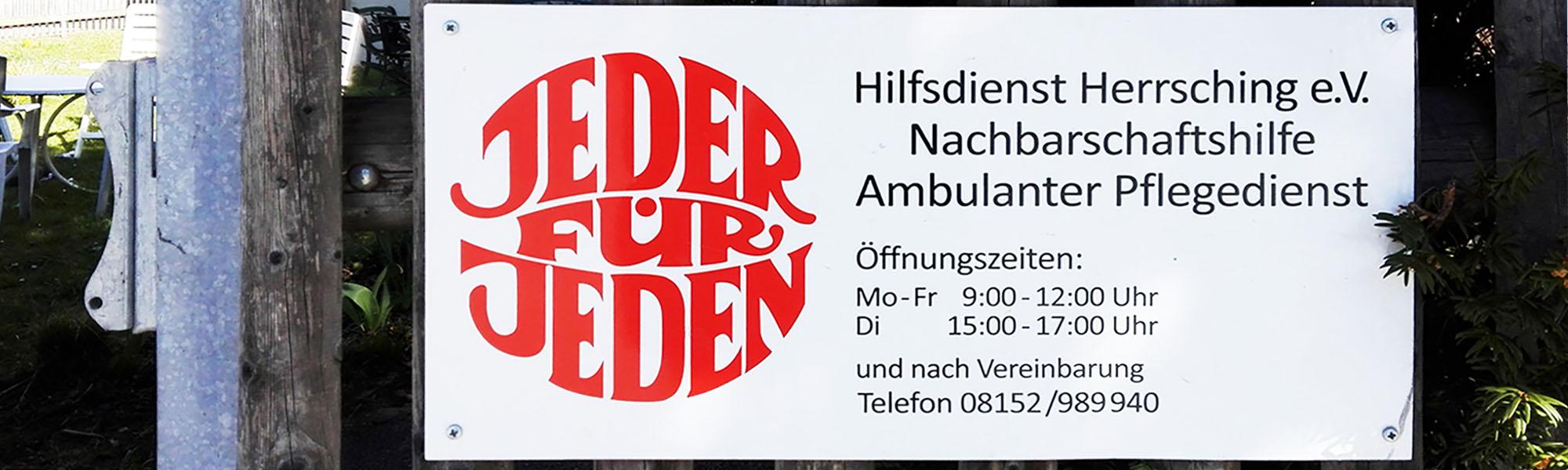 Hilfsdienst Herrsching